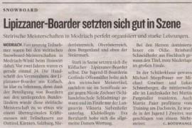 Pressestimmen – Kleine Zeitung