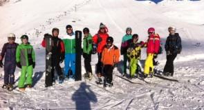 Erstes GS-Training am Mölltaler Gletscher