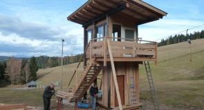 Der neue Zielturm oder das Wahrzeichen vom Hoiswirt