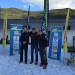 1. Platz Roman Buchebner, 2. Platz Sigi Kainz
