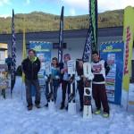 1. Platz Carmen Kainz, 2. Platz Laura-Marie Hobel